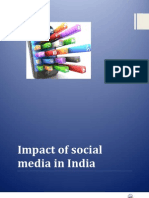 Impact of the Social Media in Indiaqaiser