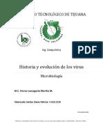 Historia y evolución de los virus.