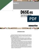 Manual Operacion Mantenimiento Tractor Oruga d65e Komatsu
