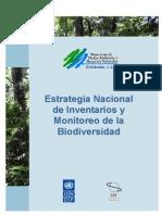 Estrategia Inventarios y Monitore de La Biodiverisdad