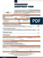NBPLC 2013 Sponsorship Commitment Form