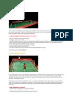Teknik Pukulan Badminton