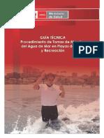 Guía Tecnica Proced_Tom_Muestras_Playas