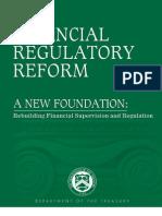 Financial Regulatory Reform 2009