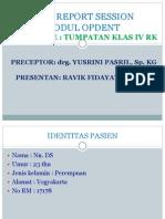 Case Report Klas IV Ravik