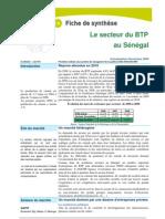 Le Secteur Du BTP Au Senegal
