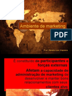 SEMINÁRIO  -  Ambiente de marketing