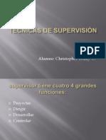 Técnicas de Supervisión