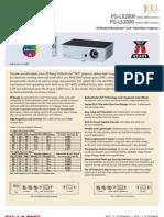 PG-LX2000 & S2000 DLP