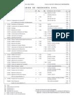 Plan de Estudios Ingeniería Civil pucp