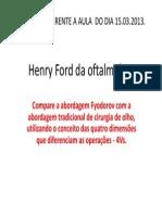 Henry Ford Da Oftalmologia