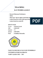 RPP Untuk Micro Teaching