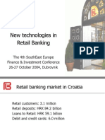 D4New Technologies in Retail Banking