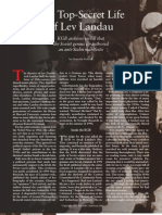 The Top-Secret Life of Lev Landau