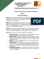5reglamento de Mercados, Tianguis, Puestos Fijos, Semifijos y Ambulantes