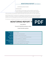 VCS Monitoring Report Template, V3.2_0