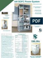 5kW SOFC Brochure2002