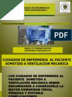 Expo Cuidados en Ventilacion Mecanica General
