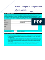 TEV Application Form