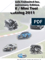 2011 BMW Tools Catalog