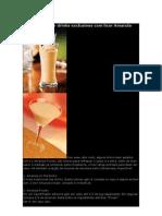 Aprenda a Fazer Drinks Exclusivos Com Licor Amarula