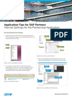 Application Tips for SAP Partners