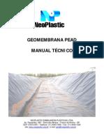 Manual Geomembrana