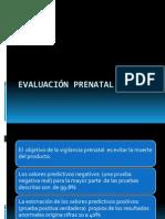 Evaluación PRENATAL