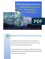 Rationale, Objectives and Priority Areas of the Cement Industry Partnership on Mercury_Alan Kreisberg