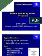 UNEP Inventory Work