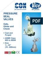 Pressure Seal Valves-gate