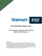 133763320 Wal Mart CaseStudy PDF
