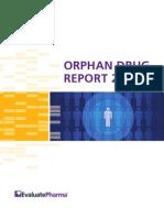 EvaluatePharma Orphan Drug Report 2013