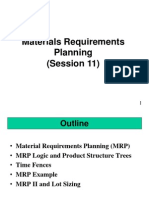 Session 11 (Material Resource Planning, TMH)