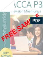 2013 Paper P3 Mnemonics and Charts Sample Download v1