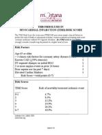 Tim i Risk Score