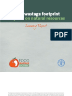 Food Waste Footprint report