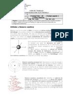 Guía de trabajo Configuración Electrónica II Medio Química