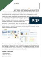 Crear Dashboards Con Excel