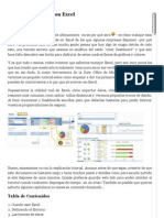 Crear Dashboards Con Excel