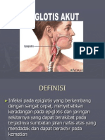 4. Epiglotis akut