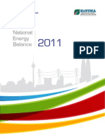 National Energy Balance 2011