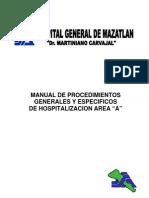 Procedimientos Tecnicos Hospitalizacion Area a _1