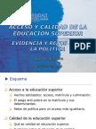 SERIE BIBLIOGRAFICA Nº 1 - ACCESO Y CALIDAD DE LA EDUCACION SUPERIOR