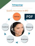 Quality Assurance in BPO