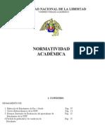 Normatividad Academica Unt
