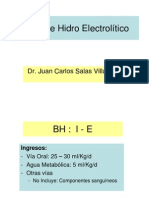 Balance Hidro Electrolítico