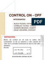 El Controlador on- Off