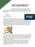 Ufficio Europeo Brevetti MolMed Nuovo Brevetto Per Biofarmaco Antitumorale NGR-hTNF