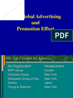 Global Advertising Effectiveness